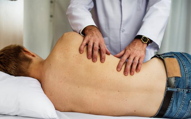 Pernas dor nas lombar musculares espasmos