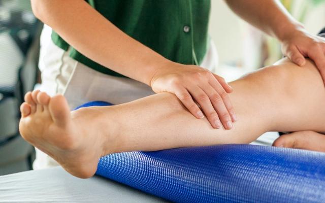 massagem para varizes
