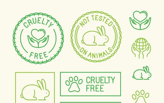 Selos de cruelty free.